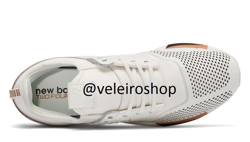 2383af3bfd8 tênis new balance 247 luxe couro promoção - video produto. Carregando zoom.