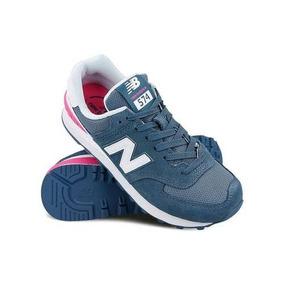 34e691863f1 Tenis New Balance Feminino 574 Rosa - Calçados