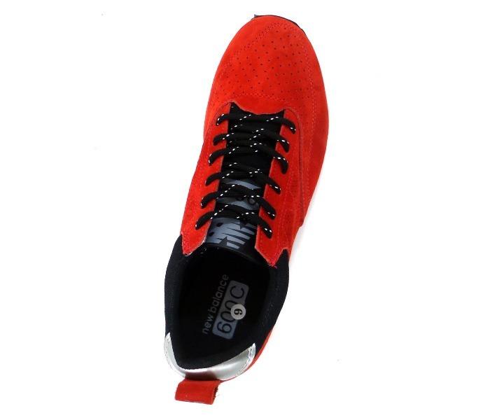 Tênis New Balance 600c Couro Vermelho b600242ba807f