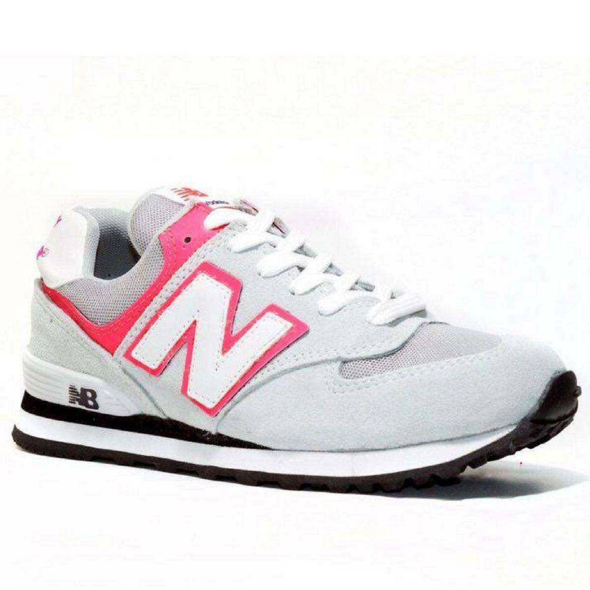 16870fc2d71 Tênis Sapatenis New Balance 574 Feminino Esporte Caminhada - R  89 ...