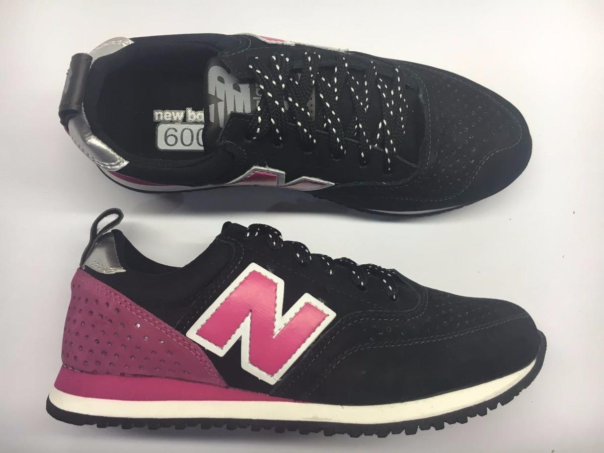 Tênis New Balance Nb 600c Series Feminino Couro Legítimo - R  79 f471ddbe38747