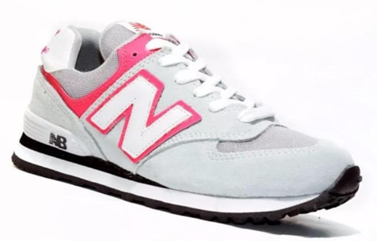 0ed09996483 Tênis New Balance 574 Feminino Promoção Envio Rapido. - R  89