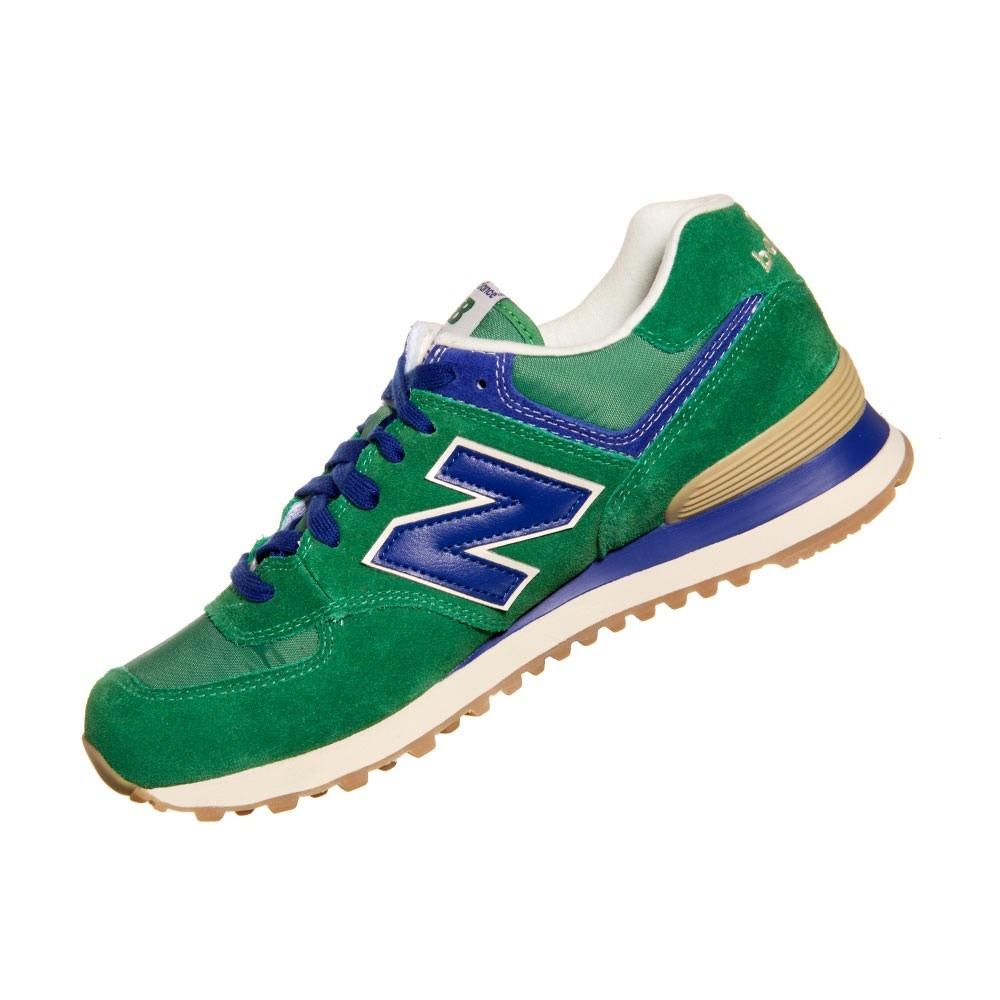 e357dddcc2a tênis new balance ml574 verde azul. Carregando zoom.