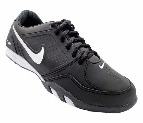 tênis nike air fit preto e branco