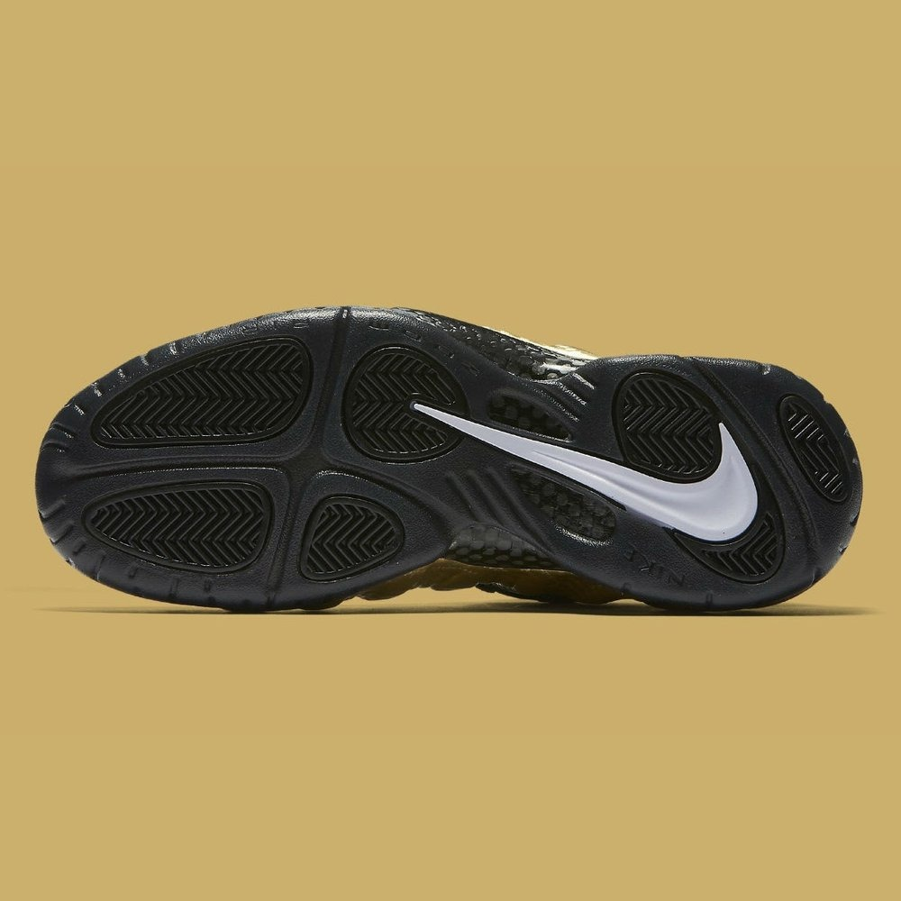 separation shoes 5f2c9 1d20c Tênis Nike Air Foamposite Pro Metallic Gold - Sneaker Jordan