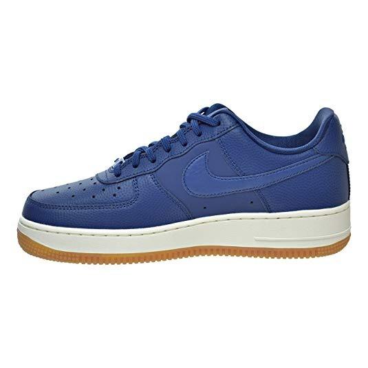 buy popular 5ed18 27a42 tênis nike air force 1 07 azul