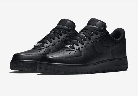 51dc7a59c72 Tênis Nike Air Force 1  07 Masculino Black black - Original - R  299 ...