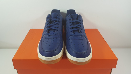 tênis nike air force 1 07' seasonal azul couro original