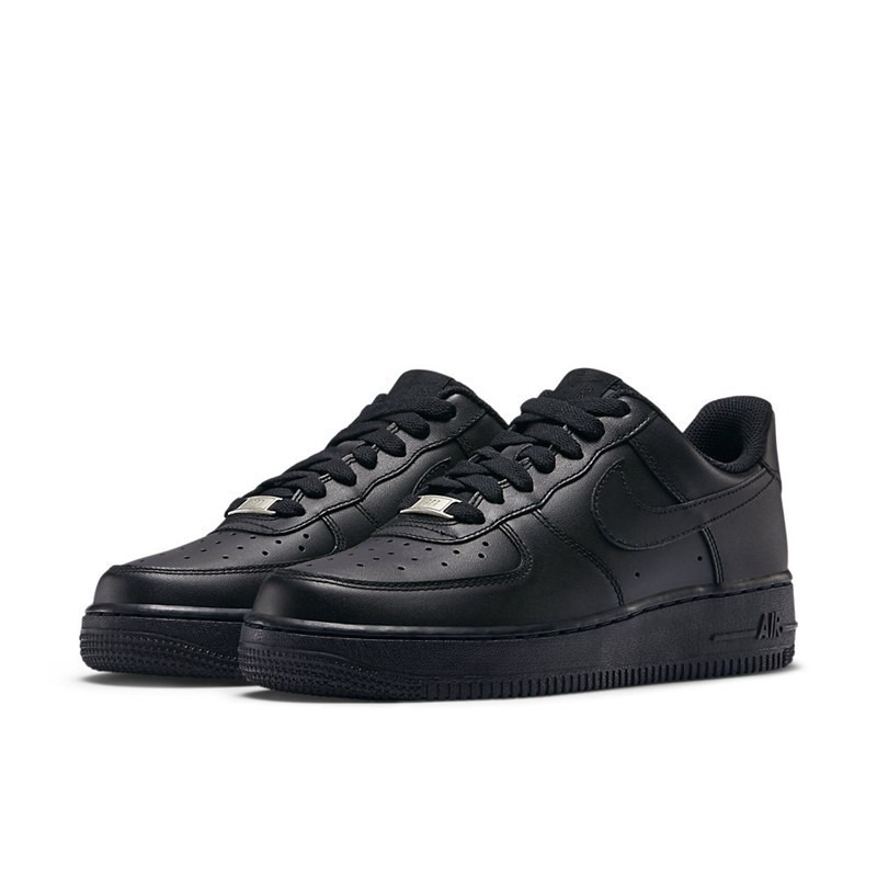 ade8209cc90ac tênis nike air force 1 (gs) low preto feminino original! Carregando zoom.