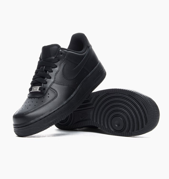 5343627911bb9 Tênis Nike Air Force 1 (gs) Low Preto Feminino Original! - R$ 379,00 ...