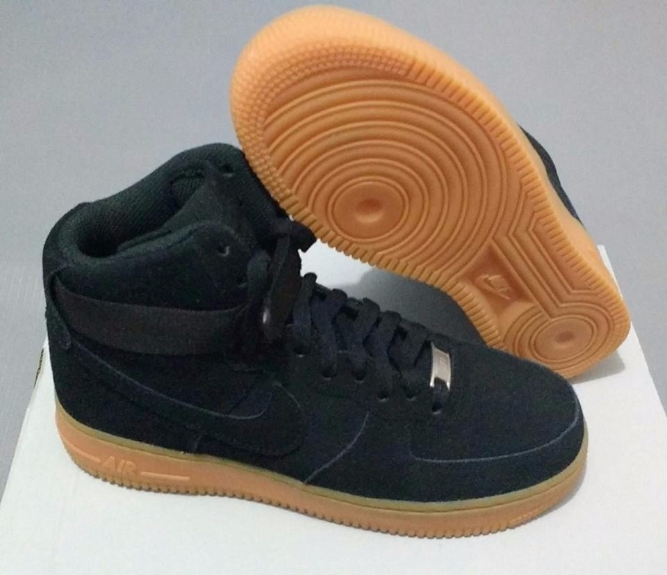 Tênis 1 Suede 07 90 Air Force OriginalR299 Nike High Feminino 08nvNmwyO