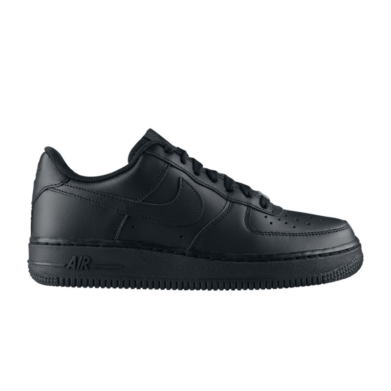 214e89fa978 Tênis Nike Air Force 1 Low (gs) Preto Cano Baixo Original! - R  349 ...