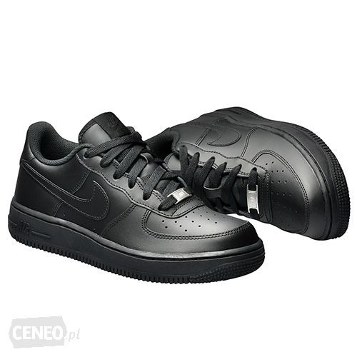 6c5adcdca38a0 Tênis Nike Air Force 1 Low (gs) Preto Cano Baixo Original! - R$ 379 ...