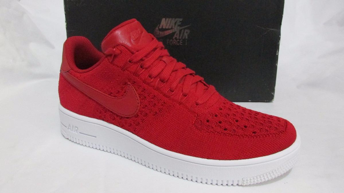 Tênis Nike Air Force 1 Low Premium Flyknit Red Original