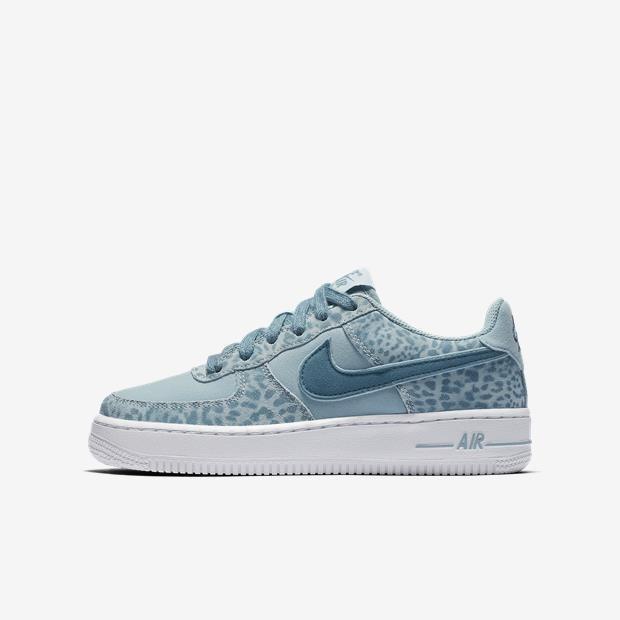 Tênis Nike Air Force 1 Lv8 Azul Feminino Casual Original