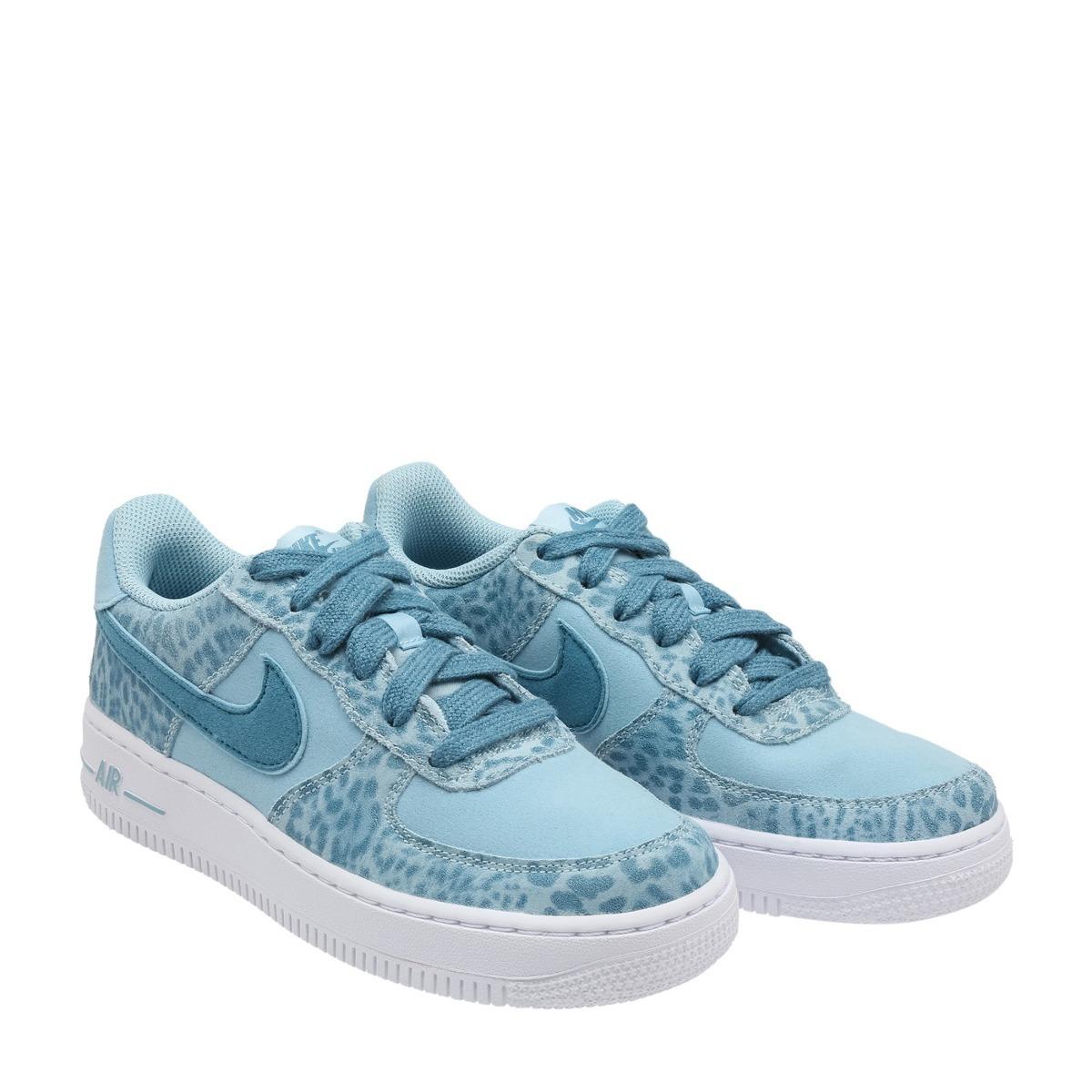 ebf3c9fdaee tênis nike air force 1 lv8 azul feminino casual original! Carregando zoom.