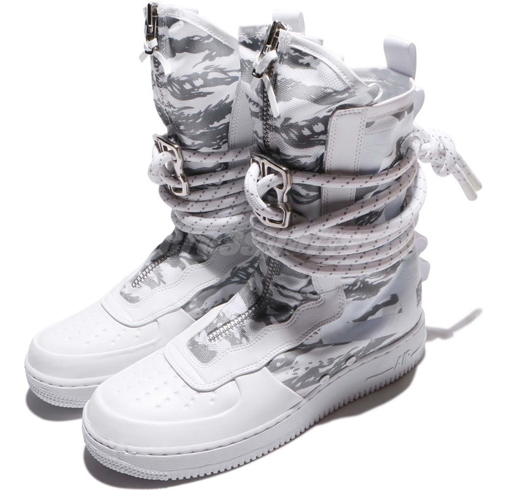 huge selection of 9c7ba 531b3 Tênis Nike Air Force 1 Special Field High Prm Camo Military.