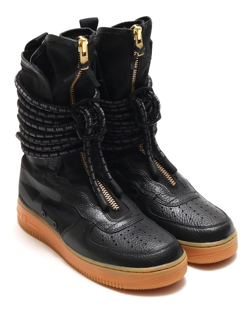 Force Special High Sneaker Black Tênis Nike 1 Field Boot Air wOkXZnPN80