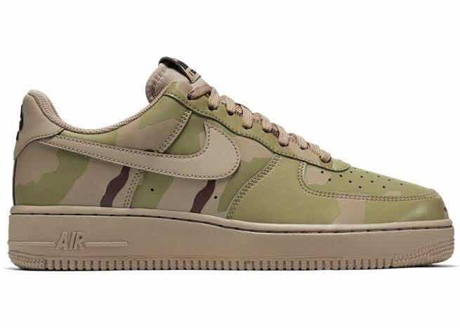 6150aaa5df6 Tênis Nike Air Force Lvl 8 Camuflado Original 823511-700 - R  400