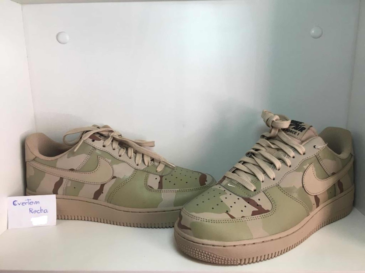 62224747d2a Tênis Nike Air Force Lvl 8 Camuflado Original 823511-700 - R  400