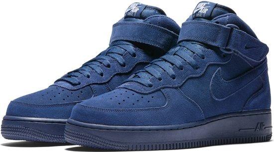 wholesale dealer 329b2 0b730 tênis nike air force mid camurça azul marinho original