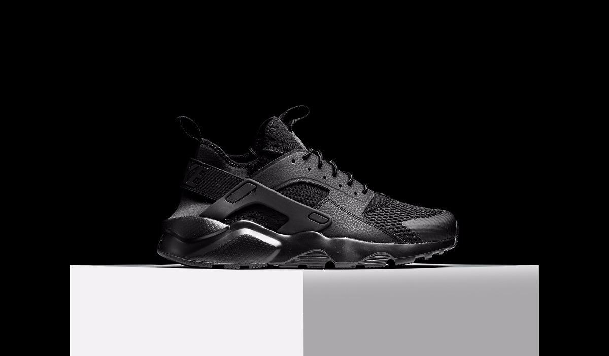 exclusive shoes release info on low cost Tênis Nike Air Huarache Run Ultra Br - Preto Retrô Style