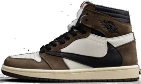 quality design 52578 9263a Tênis Nike Air Jordan 1 High Travis Scott Cactus Jack