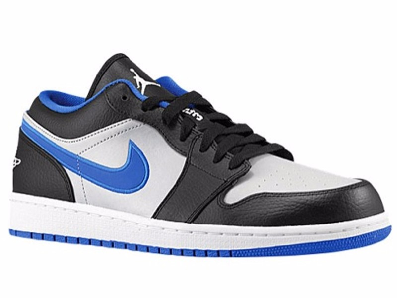 6ffefcbbf78 Tênis Nike Air Jordan 1 Low Blue Basketball