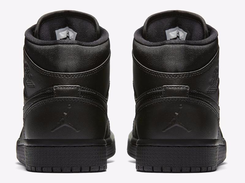 super popular 475b6 9e42a Tênis Nike Air Jordan 1 Mid Triple Black Og - Pronta Entrega