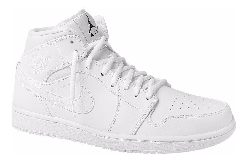 Tênis 1 Branco Retro White Mid Jordan Basketbal All Air Nike kuPiXZ