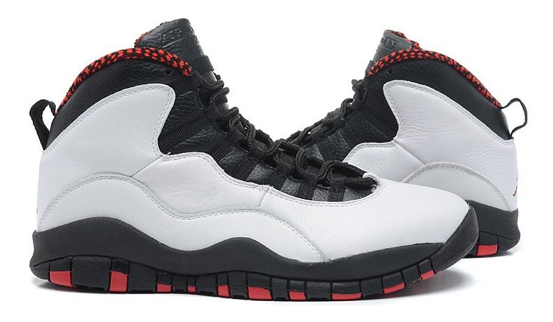 buy popular cf3b5 78758 Tênis Nike Air Jordan 10 Retro Chicago Original