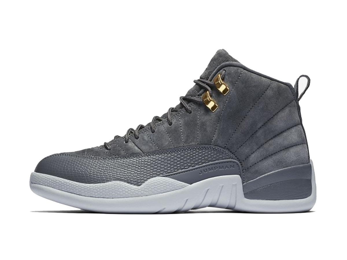 Tênis Nike Air Jordan 12 Retro Basket Dark Grey a672b3b031