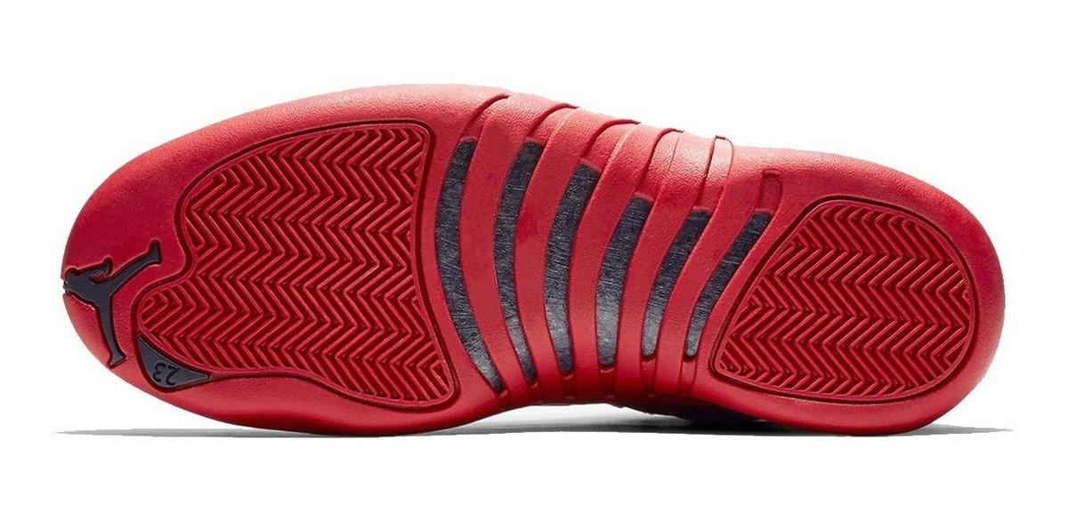 sale retailer d483c e6e18 Tênis Nike Air Jordan 12 Retro Bulls Gym Red
