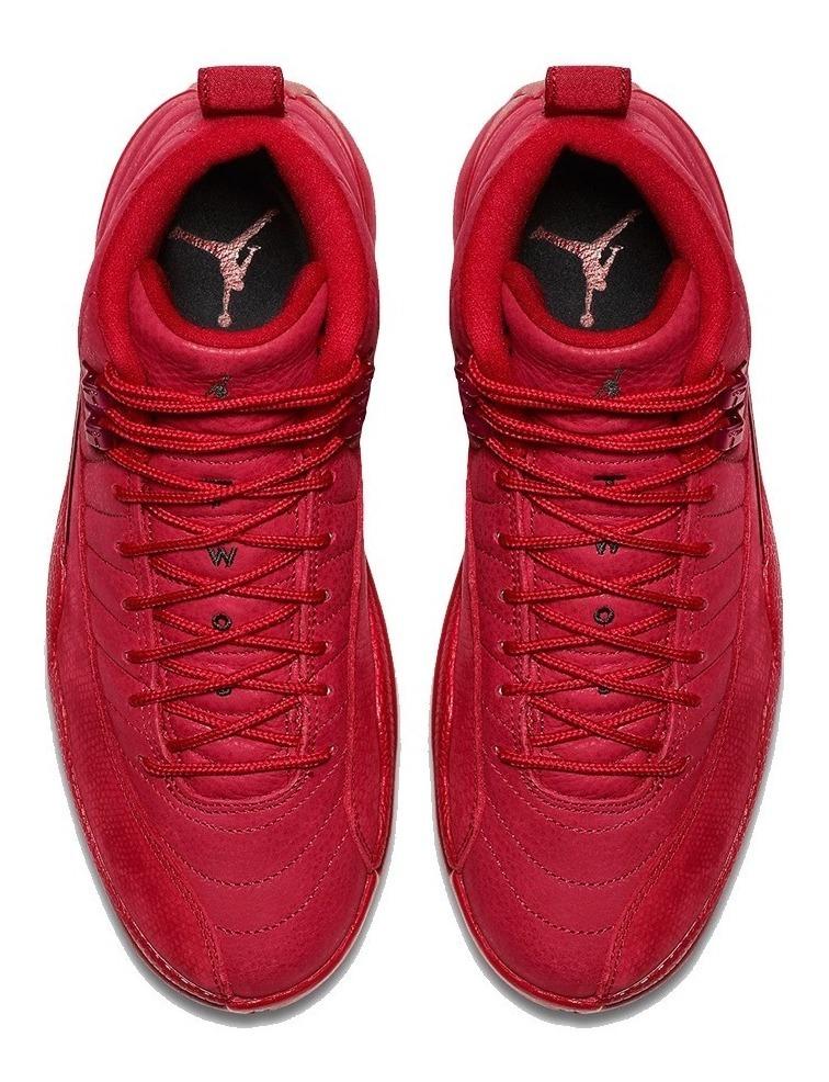 sale retailer f68e9 bb627 Tênis Nike Air Jordan 12 Retro Bulls Gym Red