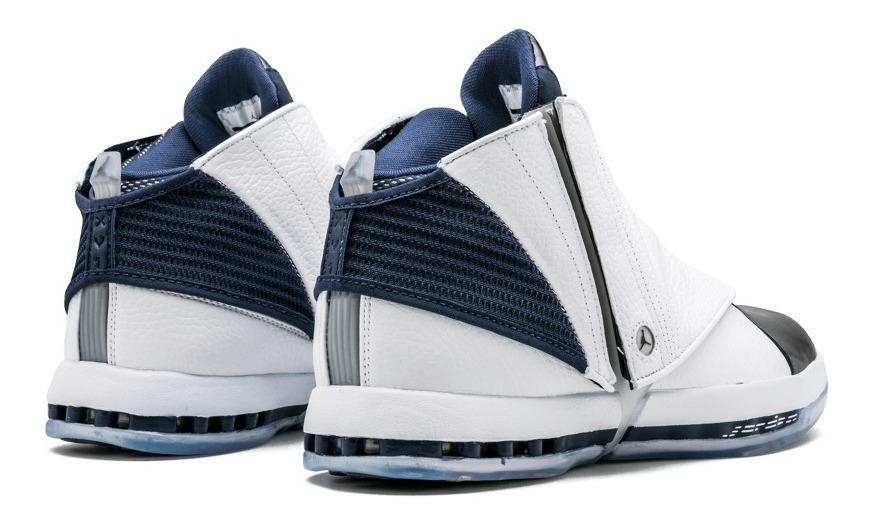 Tênis Nike Air Jordan 16 Retro Midnight Navy Promocao Novo ...