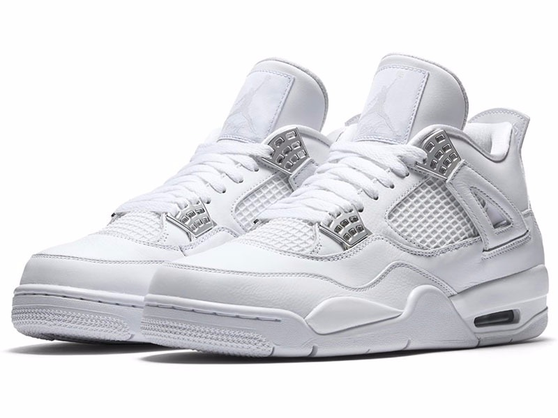 42d49319e4d Tênis Nike Air Jordan 4 Retro Gs Pure Money