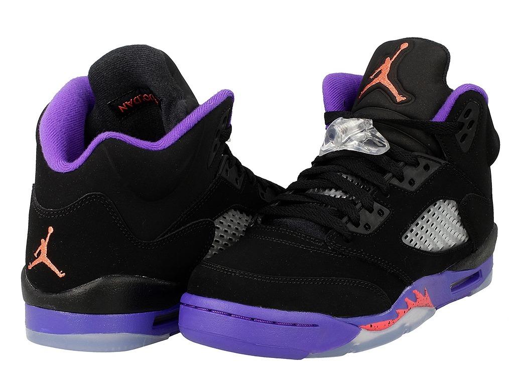 promo code cb616 92ae7 Tênis Nike Air Jordan 5 Retro Raptors Gg Fierce Purple Gs.