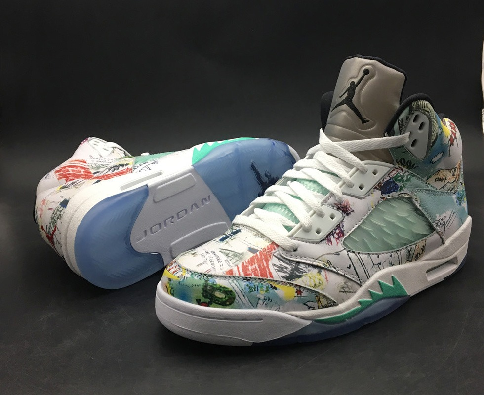 cheaper fbe15 1ec57 Tênis Nike Air Jordan 5 Retro Wings Original