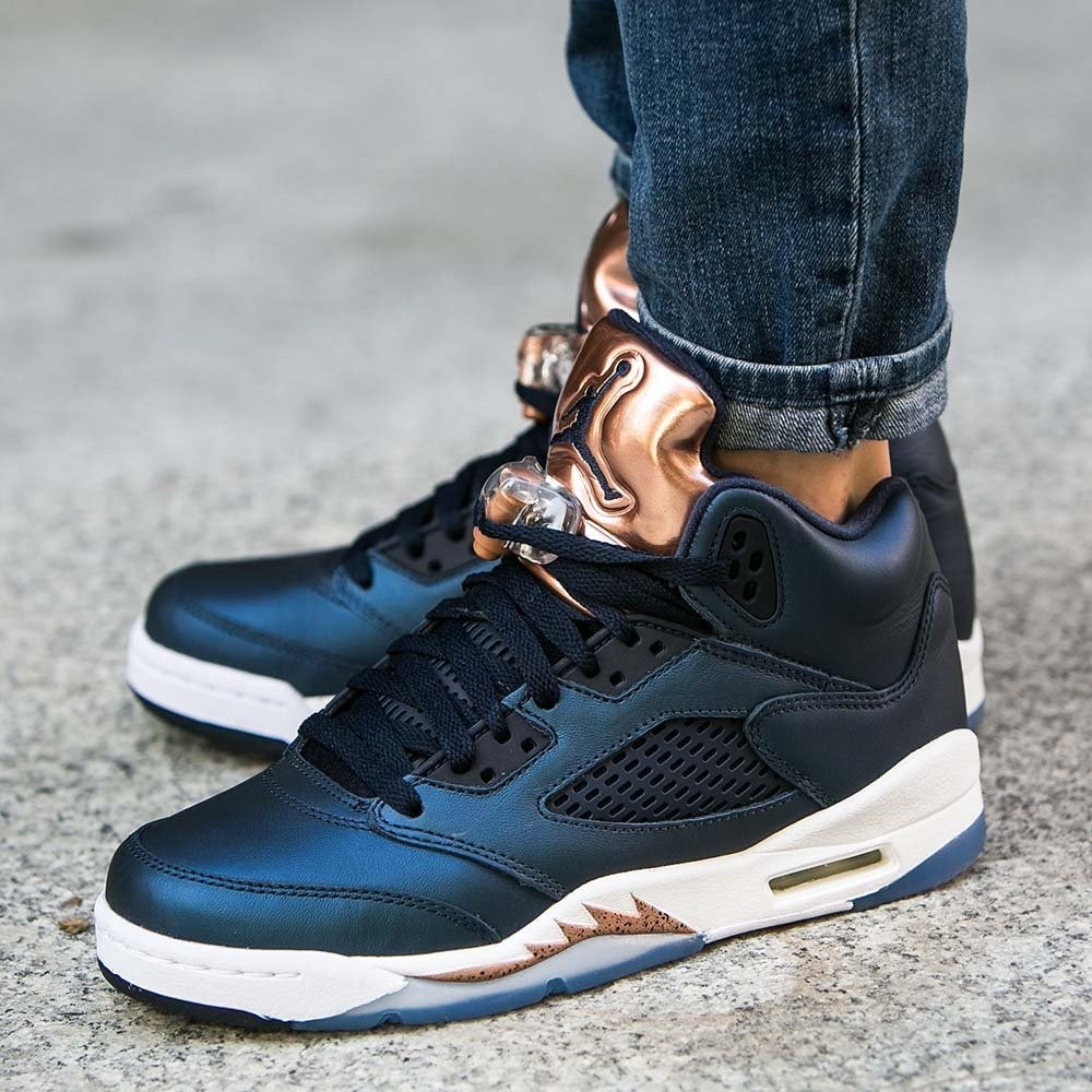 differently 10e91 5466c Tênis Nike Air Jordan 5 V Retro Bronze Pronto Entrega