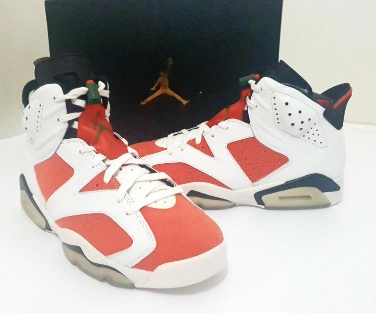 best sneakers c9881 add2c Tênis Nike Air Jordan 6 Retro Gatorade - 41