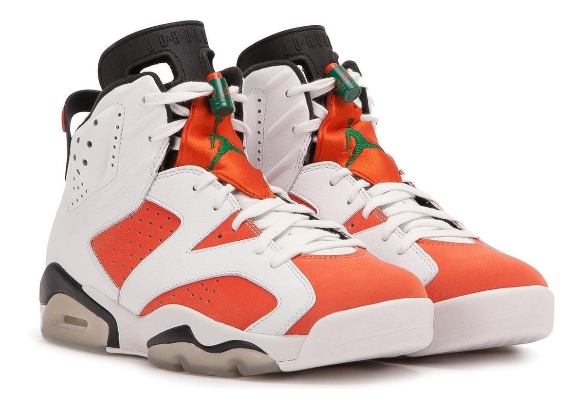 pretty nice 94cf9 fd6be Tênis Nike Air Jordan 6 Retro Gatorade