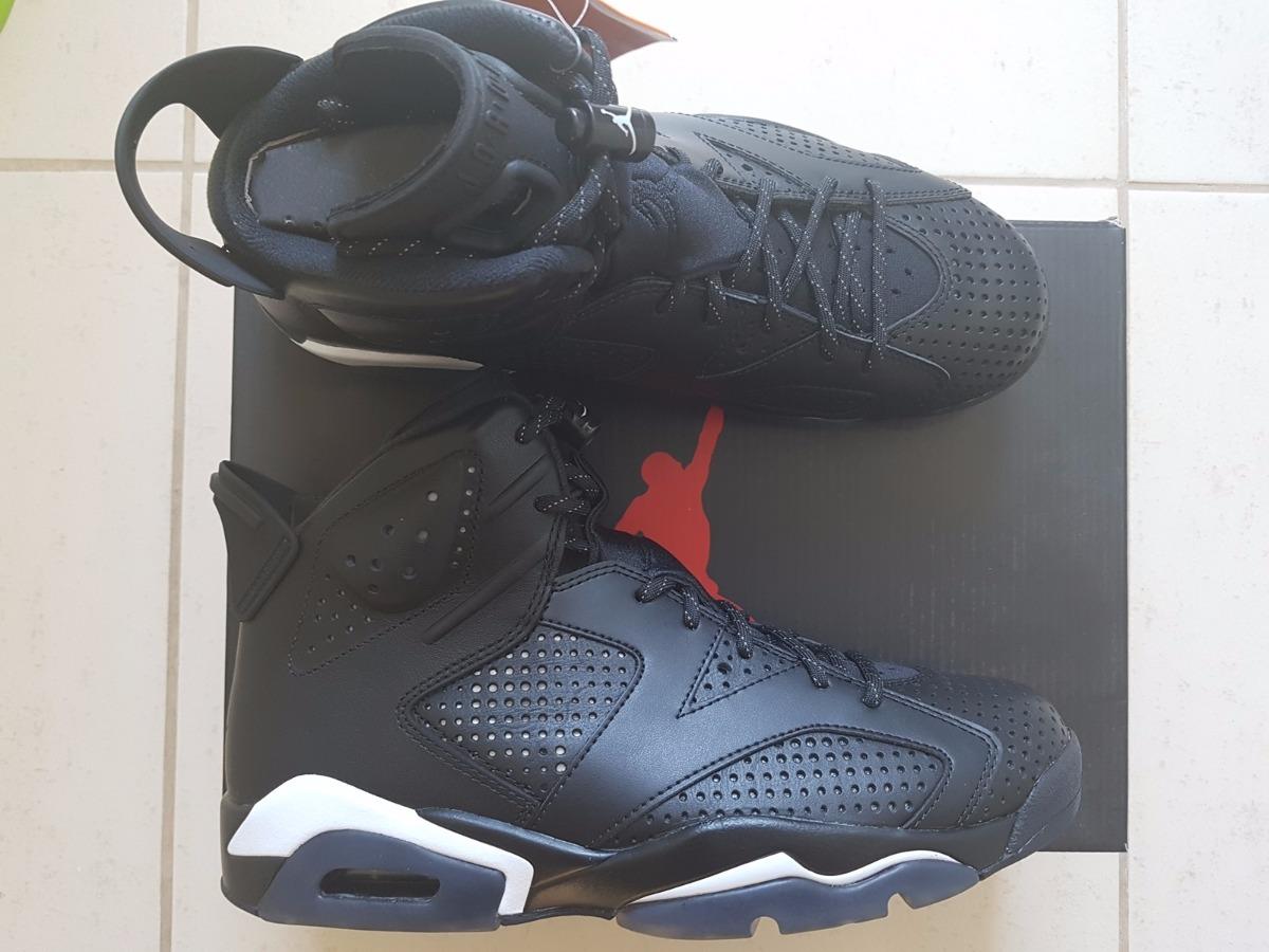official photos b147f c0270 Tênis Nike Air Jordan 6 Retro Vi Black Cat Original - R$ 569,00 em ...