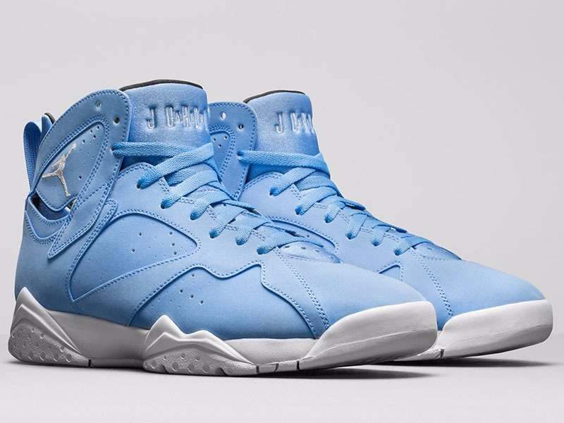 effb5eede1238 tênis nike air jordan 7 retro blue pantone basketball. Carregando zoom.