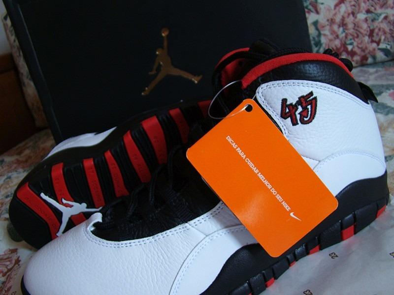 bde0b697b7 tênis nike air jordan chicago bulls basquete nba branco b05. Carregando zoom .