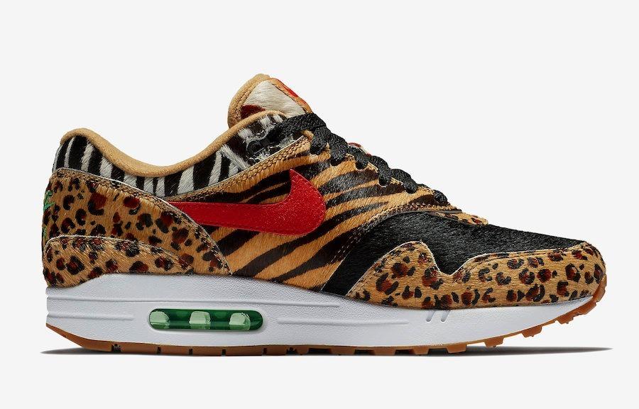 Tênis Nike Air Max 1 Atmos Animal Pack Safari 100% Origina