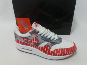 5d6add4b0a6 Tênis Nike Air Max 1 Los Primeiros Wasafu Nômade Original