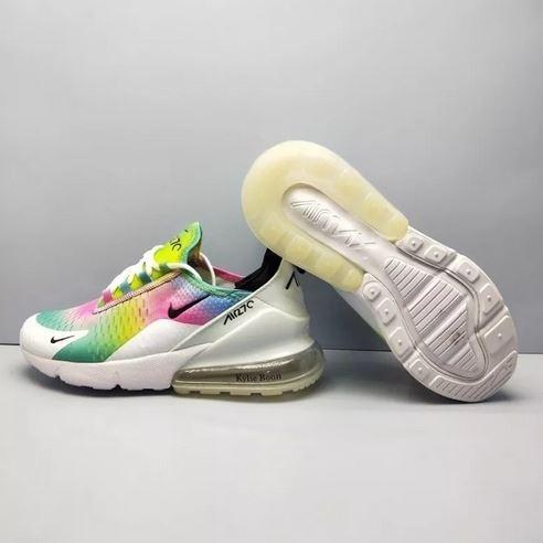 f1e2476567 Tênis Nike Air Max 270 Feminino Colorido Moda Mulher - R  594
