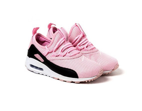 939fe1204dc Air Max 90 Feminino Rosa Com Branco Outras Marcas - Calçados