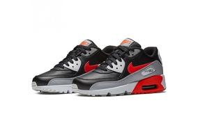 cab4829cef Tênis Nike Air Max 90 Leather Gs Reversed Infrared Original