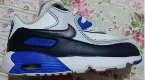 af0761a3c90 Tênis Nike Air Max 90 Leather Td Infantil-n 24 Original